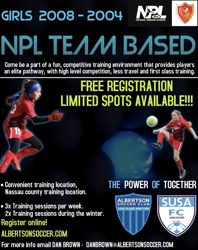 Girls NPL Team Based